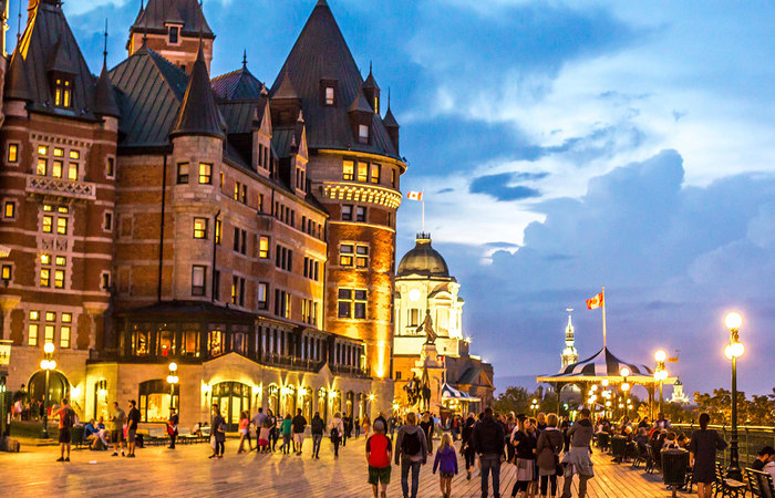 Quebec City and Charlevoix