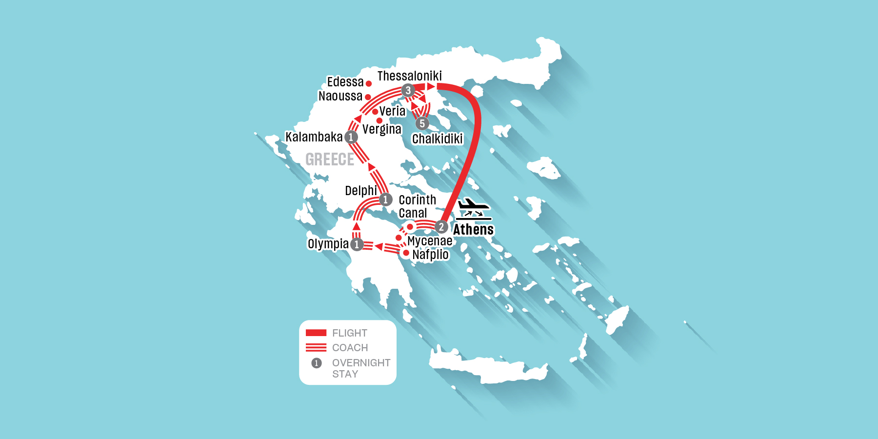 Grand Tour of Greece and Chalkidiki