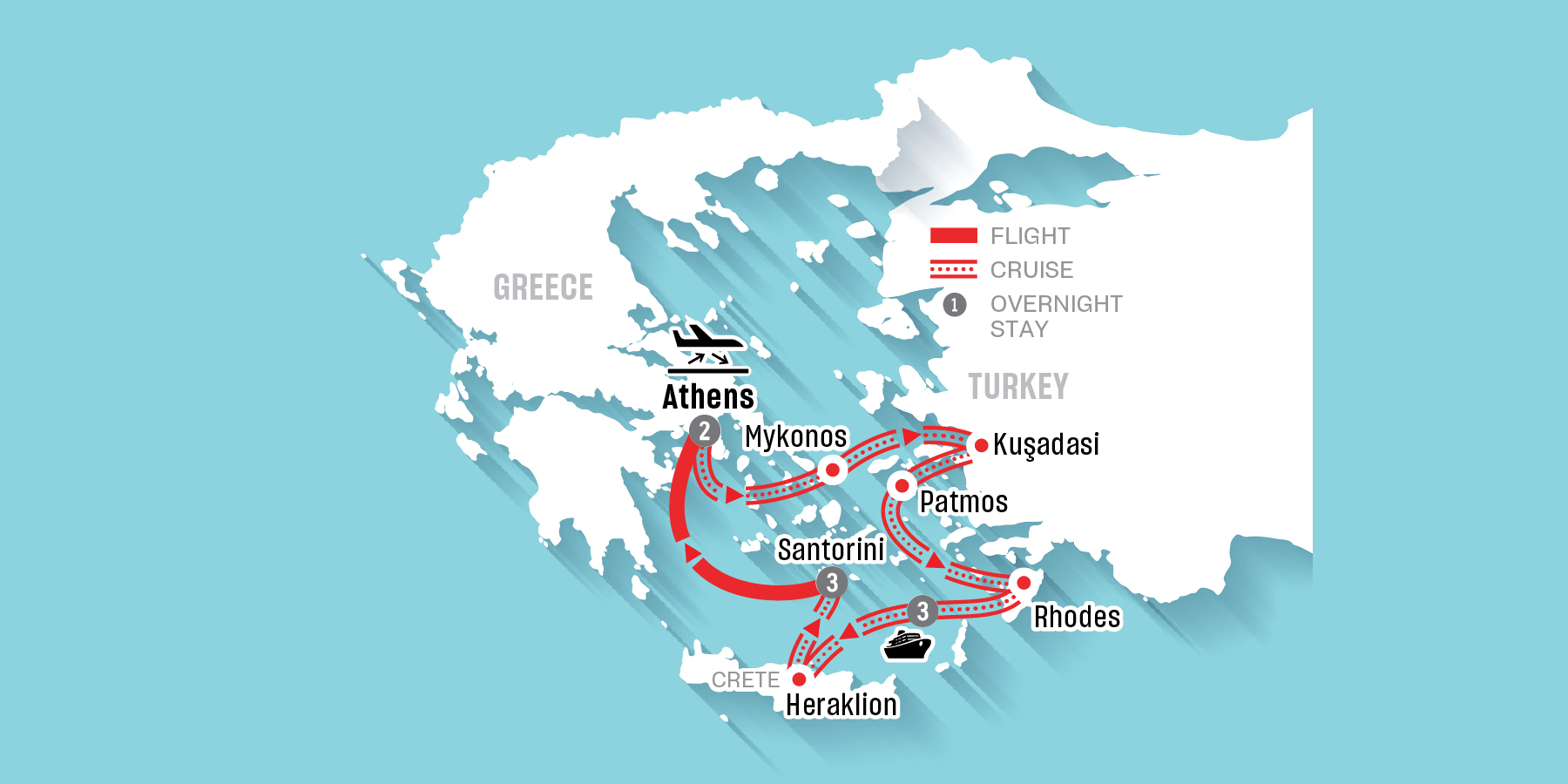 Iconic Aegean (9 nights)